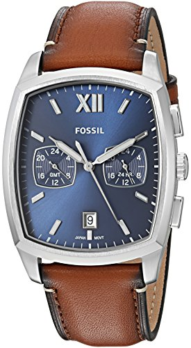 Fossil Men's 'Knox Dual Time' Quartz Stainless Steel and ...