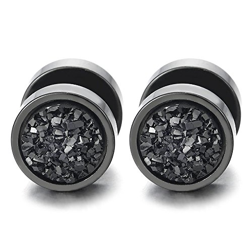 Circle Earrings Glitter Cheater Gauges product image