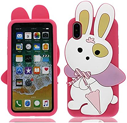 YuanYuZhongPhoneSky iPhone X Carcasa, iPhone X Funda, Linda ...