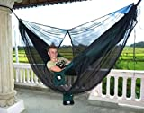 Hammock Bliss Mosquito Net Cocoon -The Ultimate Bug Screen Mossy Netting Canopy For Your Hammock With Bug Proof No See Um Mesh