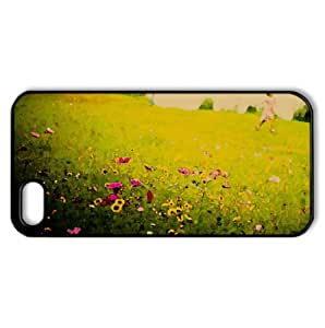 Fields Of Joy Watercolor style Cover iPhone 5 and 5S Case (France Watercolor style Cover iPhone 5 and 5S Case)