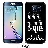 The Beatles Samsung Galaxy S6 Edge Case Material Black