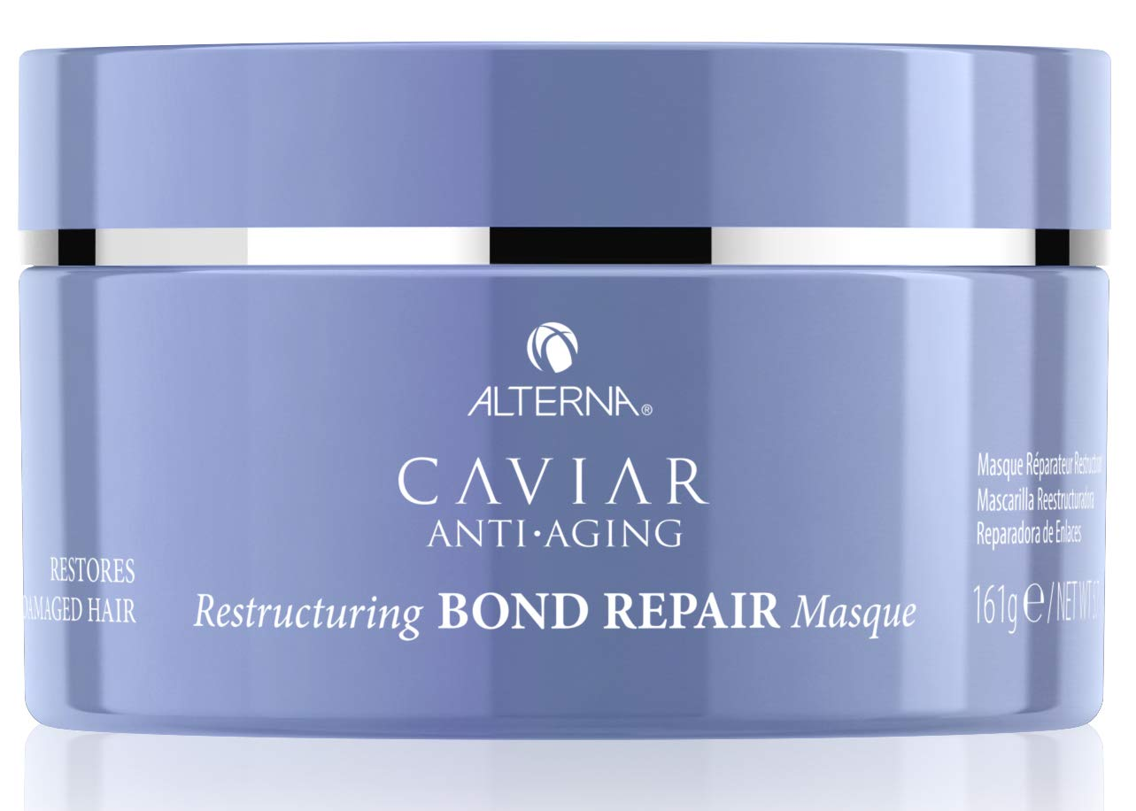 Alterna Caviar Anti-Aging Restructuring Bond Repair Masque, 5.7 Ounce | Strengthens & Protects Damaged Hair