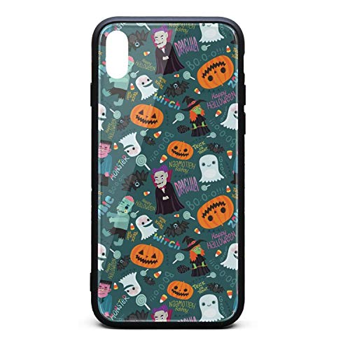 Happy Halloween Zombie i-Phone Xsmax Case Ultra Slim Case Scratch Resistant Thinnest for i-Phone Xs max -