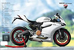 J-4735 Ducati Motorcycle Poster#6 Size 24x35inch. Rare New - Image Print Phot