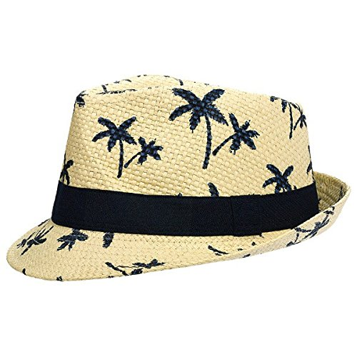 amscan Luau Party Fedora, 4.75