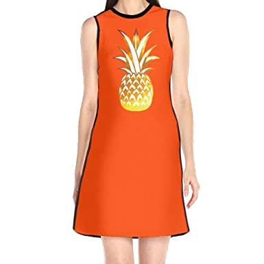 Girl Dresses Sexy Dress, Hawaii Pineapple Prom Cocktail Dresses, Royal Lush Dresses for Women