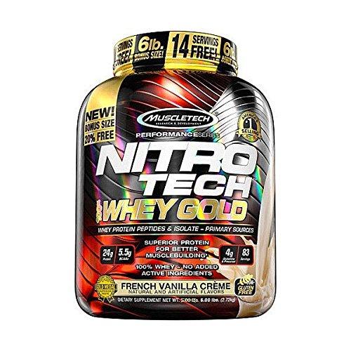 Muscletech Nitro-Tech Whey Gold - 2,5 kg Churros: Amazon.es: Alimentación y bebidas