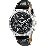 By Invicta Men's 90242-001 Stainless Steel Watch with Black Band