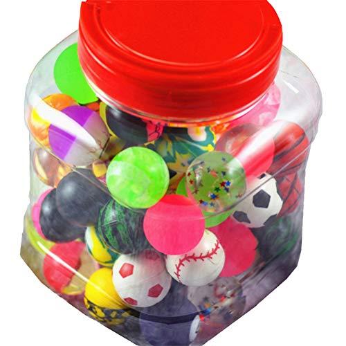 JULAN 60Pcs Bouncy Balls Magic Bounce Balls for