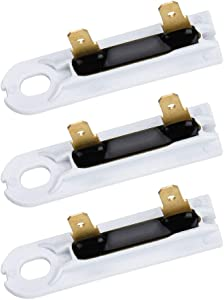 3392519 Dryer Thermal Fuse Replacement for Whirlpool & Kenmore Dryers by Appliancemate - Replaces WP3392519, AP6008325, WP3392519VP, 2986 - Pack of 3
