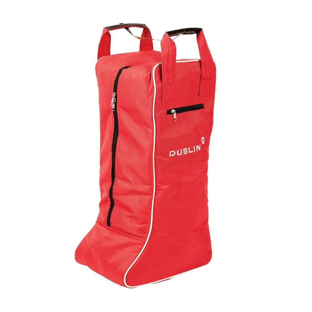 Dublin Imperial Tall Boot Bag (One Size) (Red/Cream)