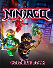 Ninjago Coloring Book: Unique Ninjago Coloring Book With High Quality Images For Kids And Adults, A Great Book To Boost Creativity