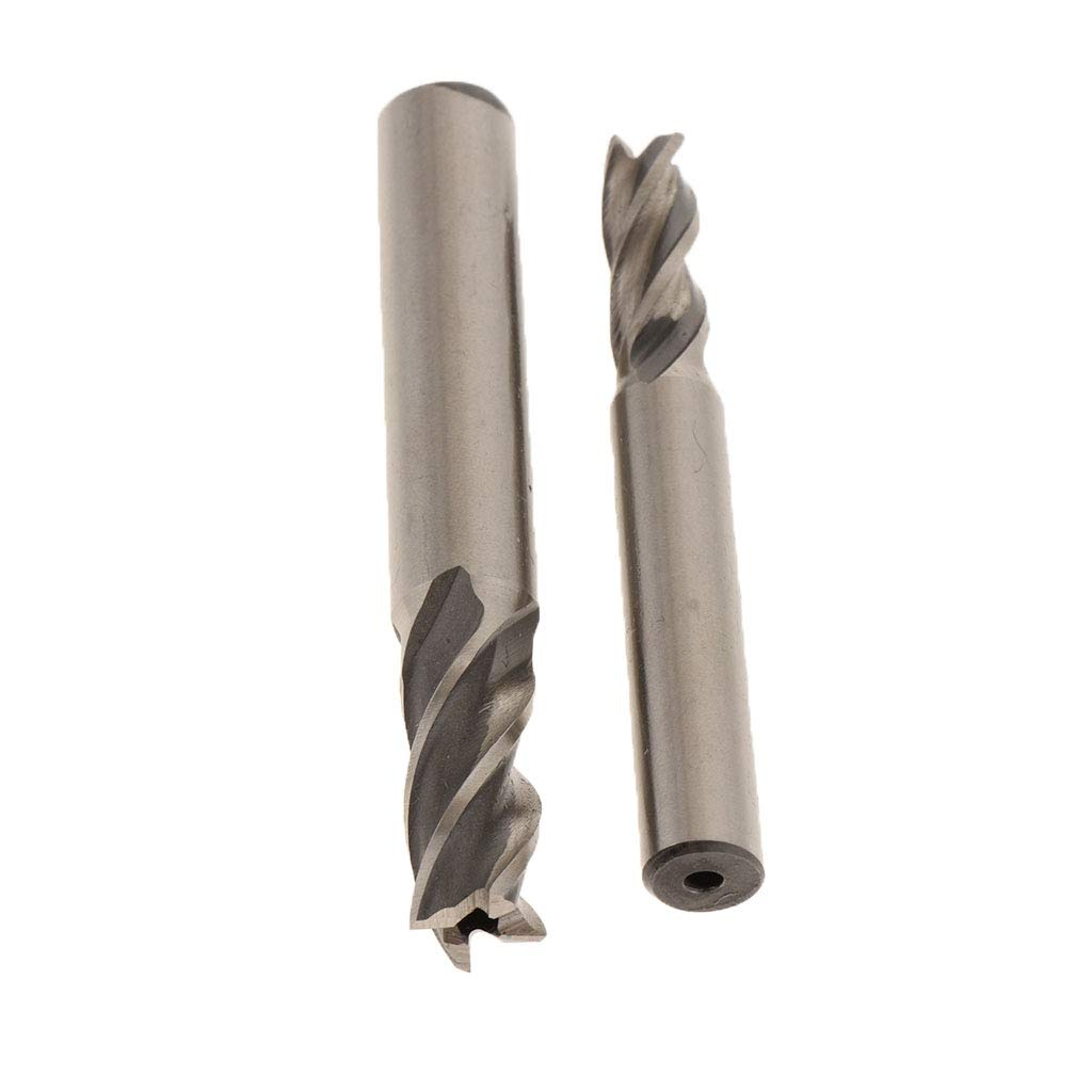 Ideal f/ür Holz Kunststoff Edelstahl Kupfer usw perfk 10er-Set Schaftfr/äser Fingerfr/äser Fr/äsemaschinen Zubeh/ör 2-10 mm