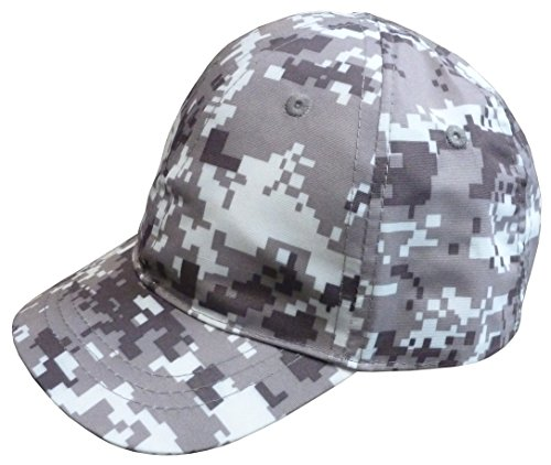 (N'ice Caps Boys Digital Camo Authentic Constructed Baseball Cap (2-3yrs))