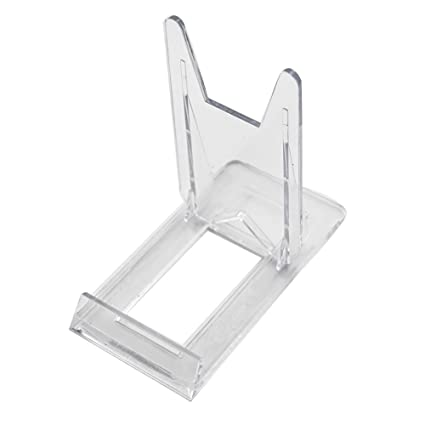 amazon com two part adjustable clear acrylic plastic display stand
