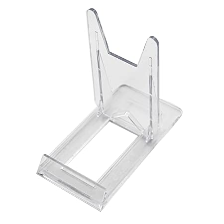 Two Part Adjustable Clear Acrylic Plastic Display Stand Easel Set Mesmerizing Adjustable Acrylic Display Stands