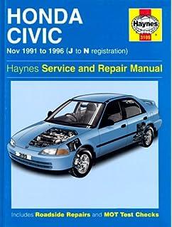honda civic 1988 1991 service repair workshop manual