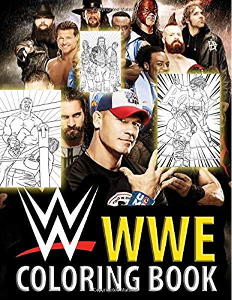 - WWE Coloring Book: With The Best Battle Scenes Of All Time Superstar, This Coloring  Book Is The Best Gift For WWE Fan: Stephen Marcus: 9798626456783:  Amazon.com: Books
