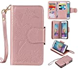 Best Galaxy 6 Edge Cases - Galaxy S6 edge Case,XYX PU Leather Wallet Case Review