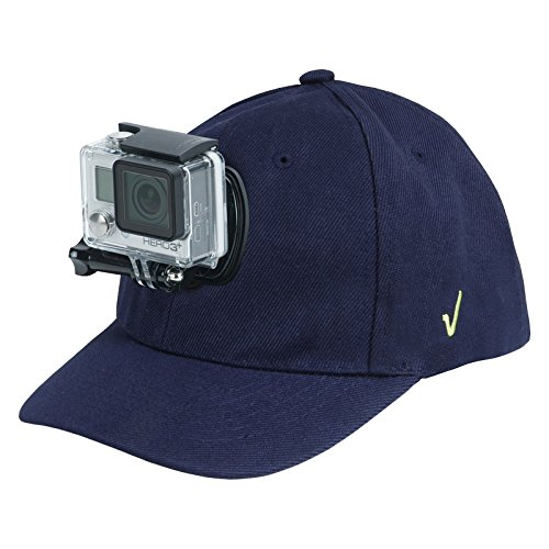 Review XP Baseball Hat with Quick Release Buckle Mount Adjustable Cap Blue, Compatible with Most Action Cameras, GoPro Hero Session 5,4,3+,3,2,1, Yi, Yi 4K (Go Pro Mount 4 Fence Hero)