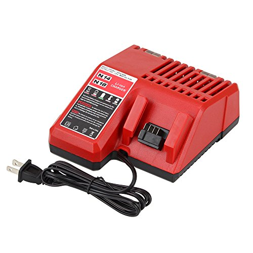 Replacement M18 Battery Charger for Milwaukee 14V-18V Lithium-ion Charger 48-11-1815 48-11-1840