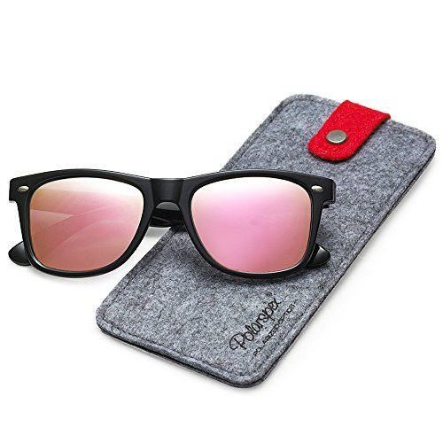 Polarspex Polarized 80's Retro Classic Trendy Stylish Sunglasses for Men Women ()