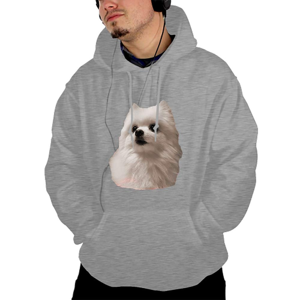 Qeeww Ferret and The Moon Pullover Hooded Sweatshirt Fashion Hoodies Big Pockets