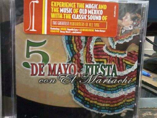 5 Choice Max 49% OFF De Mayo Fiesta Con Mariachi Vargas Tecalitlan