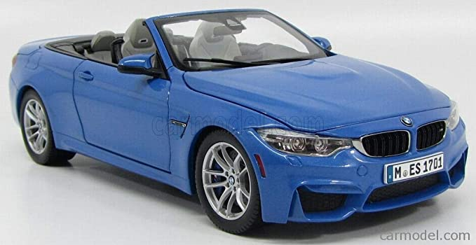 Amazon.com: BMW M4 Convertible, metallic-blue, 2015, Model ...