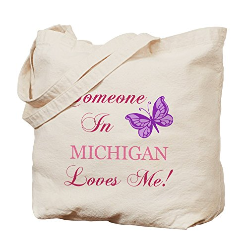 CafePress Pride Michigan State Butterfly Tote Bag - Standard Multi-color by CafePress
