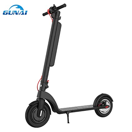 GUNAI Patinete Electrico 350w Scooter Plegable de 10 ...