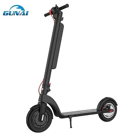 GUNAI Patinete Electrico 350w Scooter Plegable de 10 ...