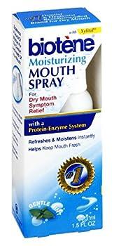 Biotene Moisturizing Gentle Mint Mouth Spray 1.5 oz Pack of 4