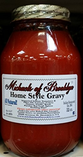 Michaels Of Brooklyn, Sauce Tomato Homestyle Gravy, 32 Ounce
