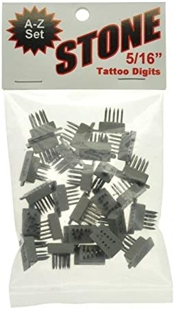 """Stone Tattoo Kit 3//16/"""" 4 Space Baby Pigs #3110 Identification"""