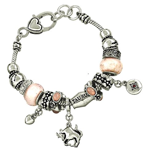 - DianaL Boutique Zodiac Sign Taurus The Bull Horoscope Bracelet Fashion Jewelry