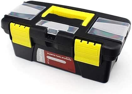Caja herramientas Caja de almacenamiento de herramientas de hardware de piezas de instrumentos multifuncionales de 10 pulgadas Caja de herramientas de plástico ABS Caja de electricista caja de herrami: Amazon.es: Hogar