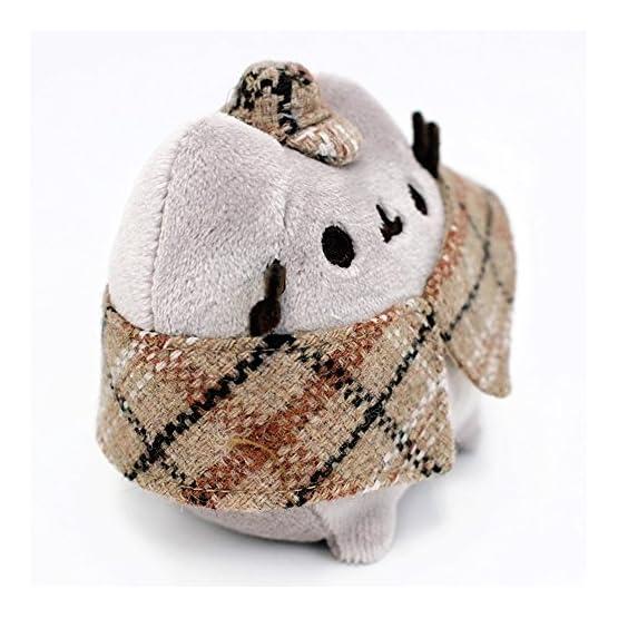 Pusheen Detective Plush   Bag Clip - 4.5 Inches 4