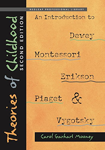 Examine the work of five groundbreaking education theorists—John Dewey, Maria Montessori, Erik Erikson, Jean Piaget, and Lev Vygotsky—in relation to early childhood. Theories of Childhood provides a basic introduction to each ...