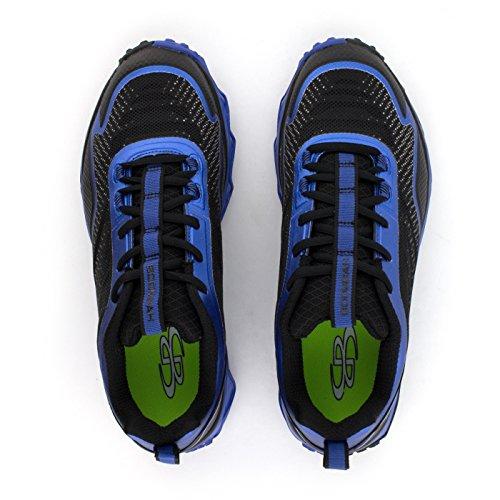 Scarpe Da Tennis Turbo Da Uomo Boombah - 13 Opzioni Di Colore - Più Dimensioni Nero / Reale