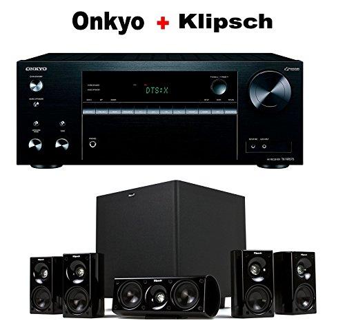 Onkyo-Versatile-Audio-Video-Component-Receiver-Black-TX-NR575-Klipsch-HDT-600-Home-Theater-System-Bundle