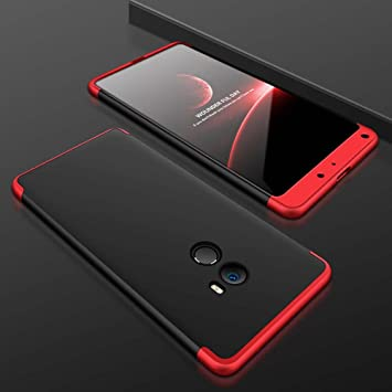 TANGNI Funda Xiaomi Mi Mix 2 Carcasa Xiaomi Mi Mix 2 con [ Protector de Pantalla de Vidrio Templado ] 3 en 1 Desmontable azos Xiaomi Mi Mix 2 Funda ...