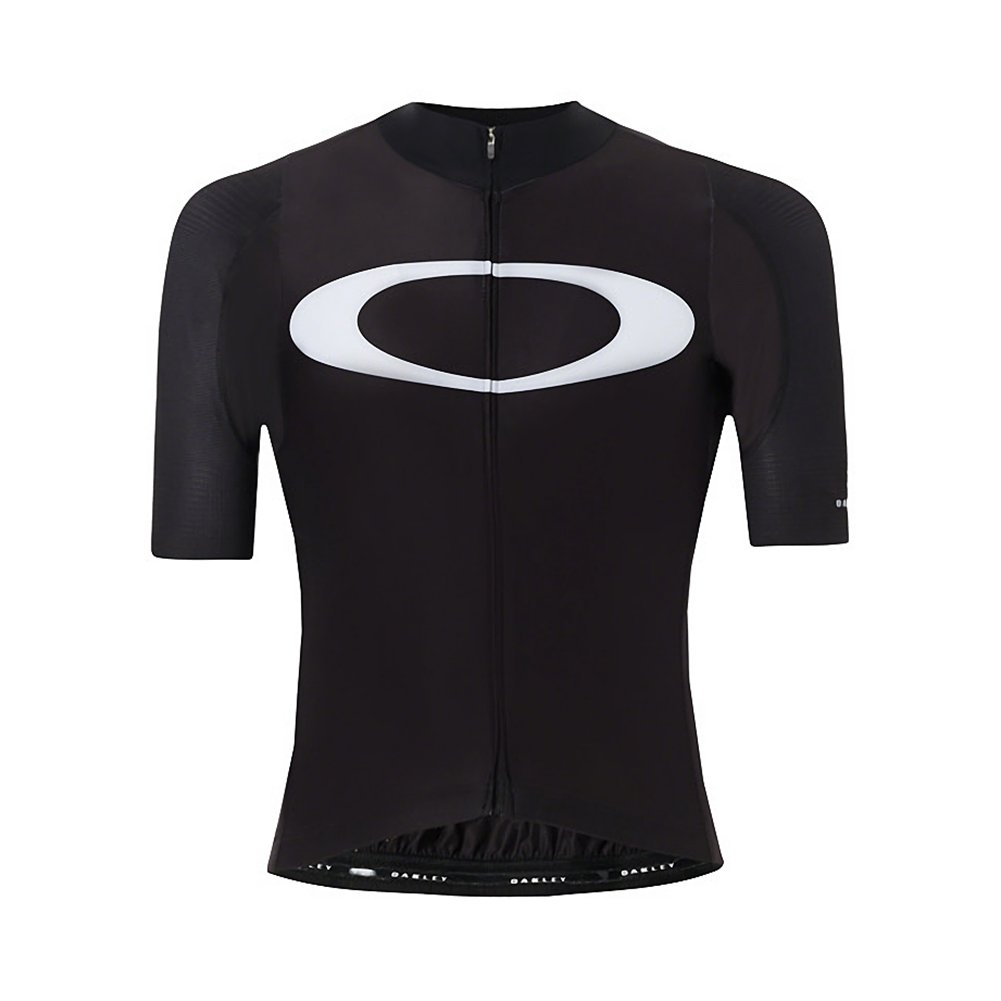 Oakley Men's Premium Branded Road Cycling Jersey Blackout Medium