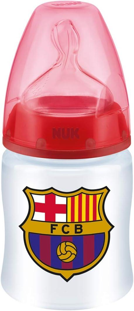 NUK Babyflasche Kunststoff First Choice FC Barcelona Sauger Silikon Gr M 0/ 150/ml /6/m