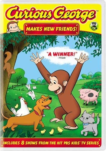 Curious George Makes New