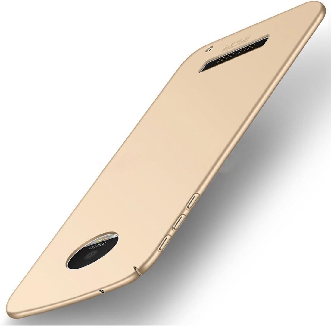Protege tu teléfono, MOFI para Motorola Moto Z Play PC Ultra-thin Edge Funda de protección de la contraportada completamente envuelta (Color : Oro) : Amazon.es: Electrónica