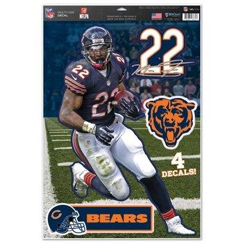 Chicago Bears Matt Forte 11''x17'' Multi-use Decal Sheet
