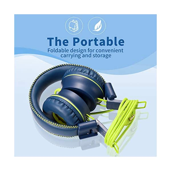 Powmee M2 Kids Headphones Wired Headphone For Kids Foldable Adjustable Stereo Tangle Free 3 5mm Jack Wire Cord On Ear Barelectrics Com Pawnee is dedicated to providing outstanding service to our clients. powmee m2 kids headphones wired