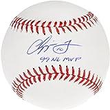 Chipper Jones Atlanta Braves Autographed Baseball with 99 NL MVP Inscription - Fanatics Authentic Certified